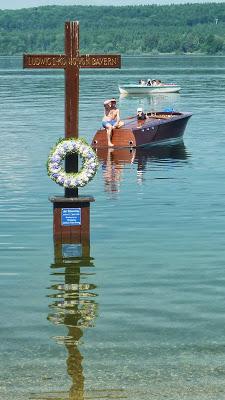 Hommage à Ludwig II, Louis 2 de Bavière, au lac Starnberg en Haute Bavière 34
