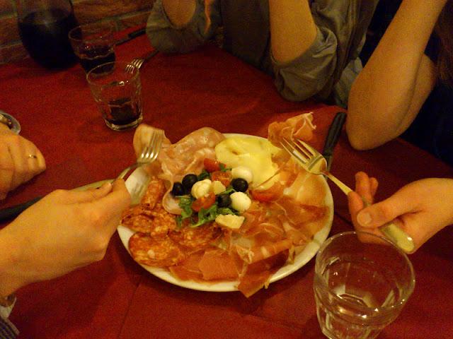 antipasti vicolo del bologna rome