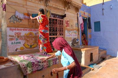 Jaisalmer, la dorée : les temples Jains et le Thar Heritage Museum 24