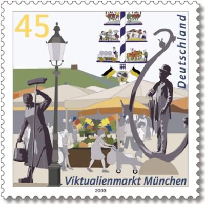 Datei:Stamp Germany 2003 MiNr2356 Viktualienmarkt.jpg