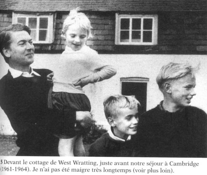 Martin Amis 1961 en famille