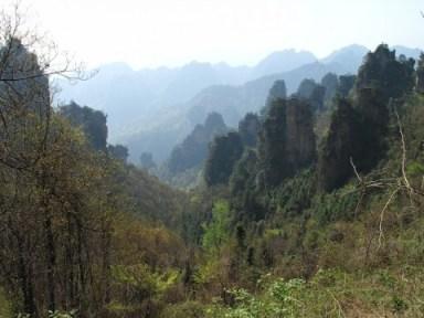 Zhangjiajie, beauté de karsts et de verdures 18