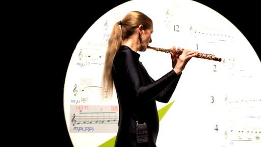 Proben zu Szene 1 und 2 aus Stockhausens SAMSTAG | Bild: Astrid Ackermann