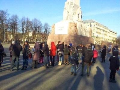 Riga 2014, capitale européenne de la culture ; un château de Lumière 10