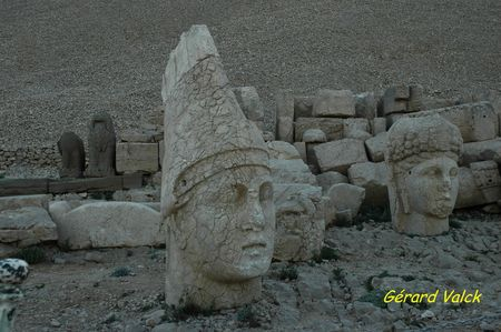 5 Tête monumentale au Nemrut Dagi
