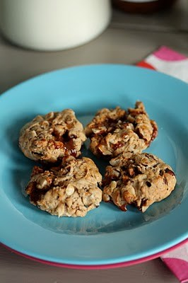 Cookies très moelleux aux noisettes à la confiture de lait 3