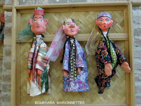 boukhara marionnettes