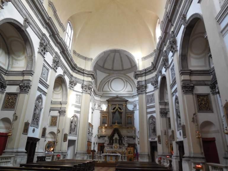 """Une dernière église sur le chemin du retour: l'église Santa Maria della Consolazione (ou """"della Fava"""") avec des statues sculptées par Torreti et des peintures de Tiepolo."""