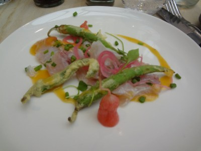 crudo de daurade