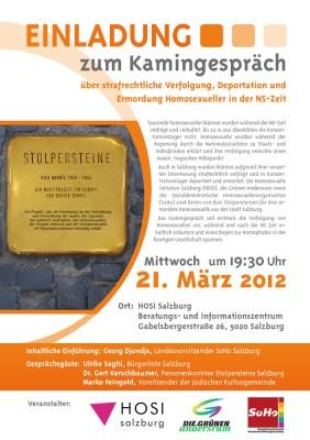 Salzbourg commémore les victimes homosexuelles du nazisme 1