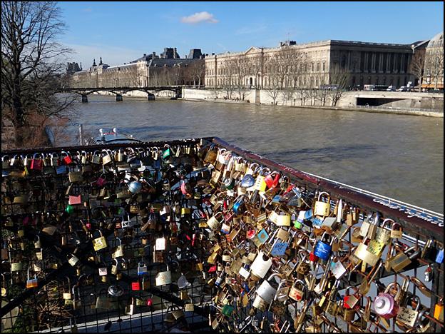 cadenas amoureux pont neuf