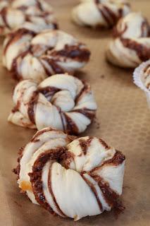 Brioches inspirées des Kanelsnurrer mais en version Nutella