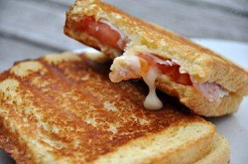 croque bacon gorgonzola 2