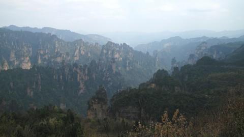 Zhangjiajie, beauté de karsts et de verdures 6
