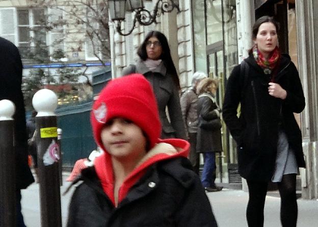 Paris kid bd st germain en fevrier