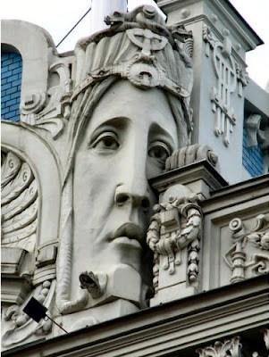 Le Riga Art Nouveau d'Eižens Laube (Tourisme Riga Lettonie) 1