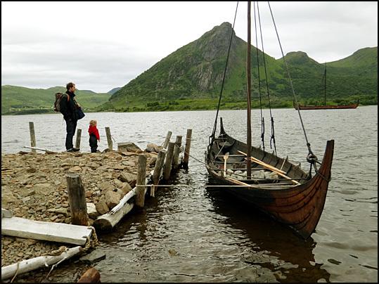 bateau viking Lofoten