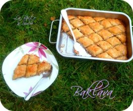 Baklava recette turque