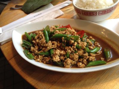 wok poulet basilic