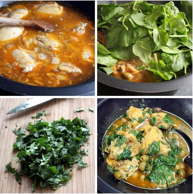 Recette de tajine de poulet aux poires et à la cannelle (Cuisine maghrebine) 3