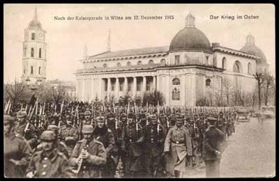 Histoire de Lituanie - Vilnius sous occupation allemande entre 1915 et 1918 3