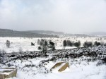 millevaches paysage de neige