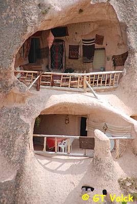 uchisar cappadoce cheminees