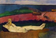 Gauguin Perte de la Virginité