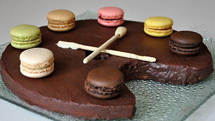 Gteau Deux Chocolats Et Sa Dco Bonbons Ou En Version
