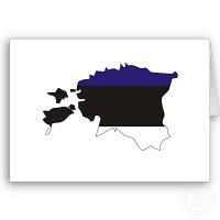 Histoire de l'Estonie : Drapeau et autres symboles 1