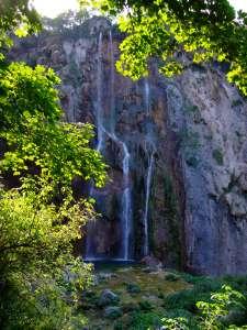 plitvice cascade parc