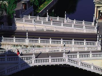 Triple pont Tromostovje de Ljubljana