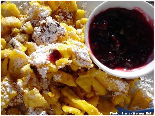 Kaiserschmarren Kaiserschmarrn recette de crêpes autrichienne