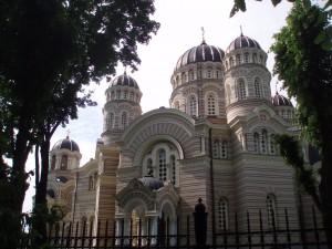 La cathédrale orthodoxe de Riga