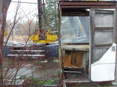 Tchernobyl Pripyat nacelles