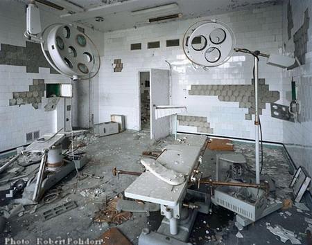 Tchernobyl : salle d'opération