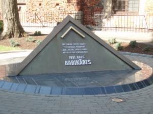 Riga se souvient de 1991