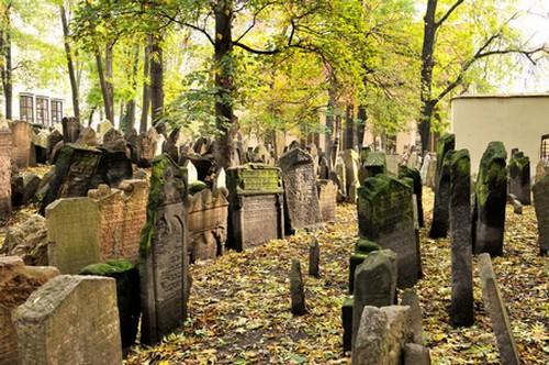 Le vieux cimetière juif de Josefov ; le plus ancien de Prague (Tourisme Prague) 1