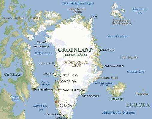 groenlandcarte