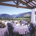 Hotel restaurant du Fronton à Itxassou (64) : ambiance du pays basque, vue sur les Pyrénées 1