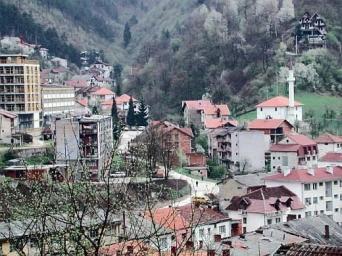 Srebrenica en Bosnie