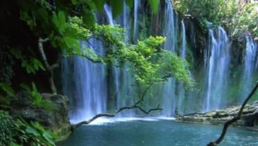 Kursunlu Selalesi, les cascades du parc national et la rivière Aksu (Tourisme Antalya) 1
