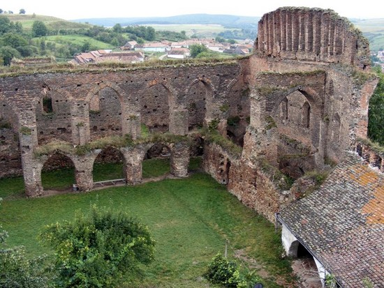 La Citadelle de Slimnic au coeur de la Transylvanie 1
