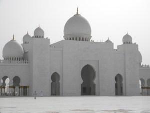 La grande Mosquée d'Abu Dhabi ; une splendeur (Tourisme Emirats Arabes) 2