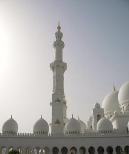 La grande Mosquée d'Abu Dhabi ; une splendeur (Tourisme Emirats Arabes) 5