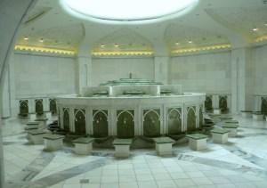 La grande Mosquée d'Abu Dhabi ; une splendeur (Tourisme Emirats Arabes) 8