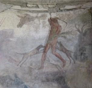 Scène de chasse - fouilles Pompei