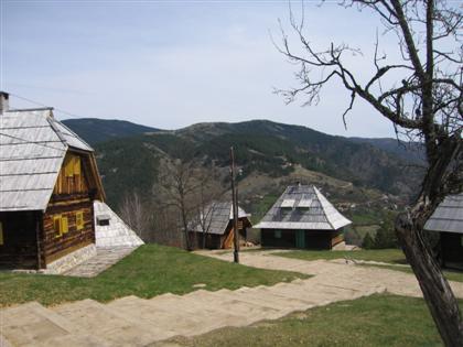 Drvengrad Kustendorf : l'ethnovillage de Kusturica près de Mokra Gora en Serbie 2