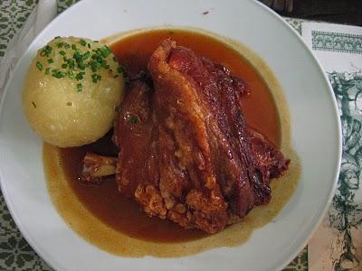 oktoberfest Schweinhaxen