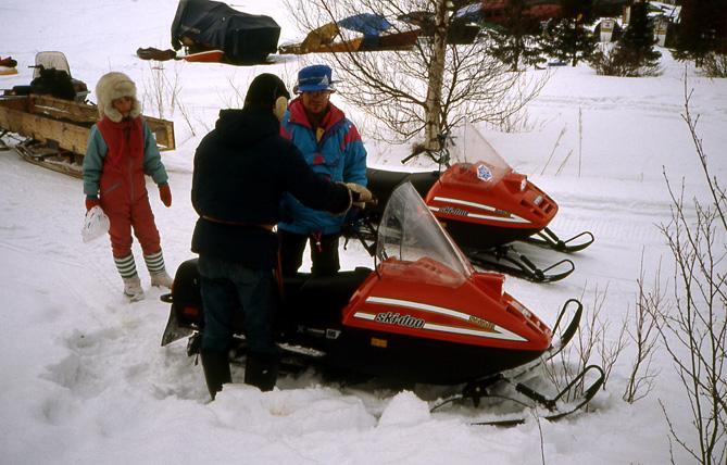 Laponie finlandaise en skidoo